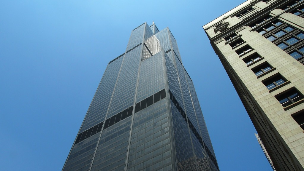 Sears Tower is one of the most popular landmarks featured in films set in Chicago.